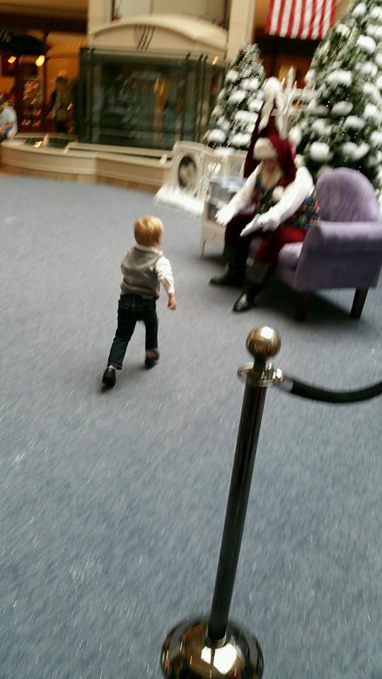 Jackson and santa 1