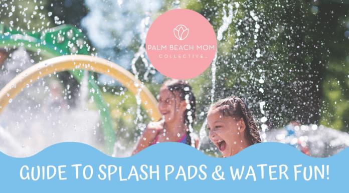 splash pads in Palm Beach County