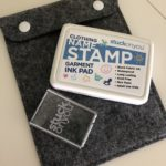 Stuck on You! Personalized Clothing Stamp