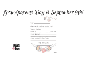 Get ready for Grandparents Day!