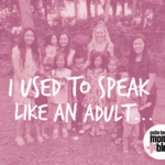 Parent Conversations- I Used to Speak Like an Adult