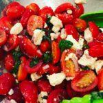 The BEST Tomato Salad