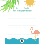 Family Summer Bucket List – **Printable**