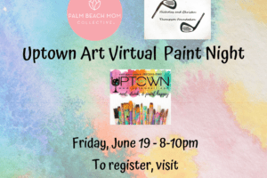 palm beach mom collective virtual paint night