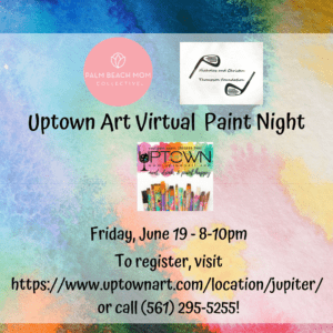 palm beach mom collective virtual paint night