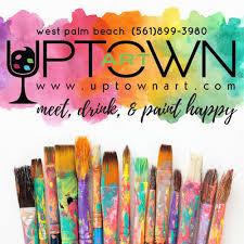 Palm Beach Moms Blog virtual paint night