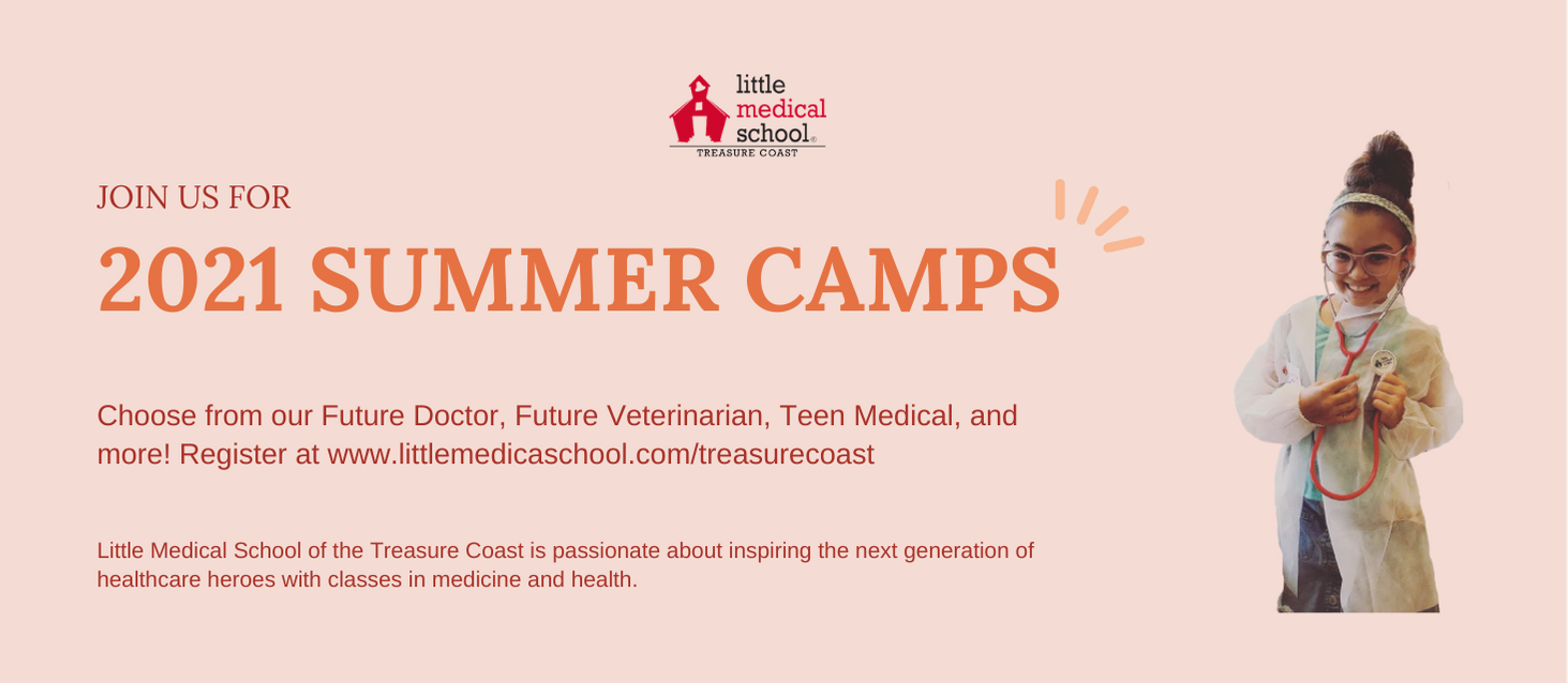 Little Medical School TC Summer Camp Banner